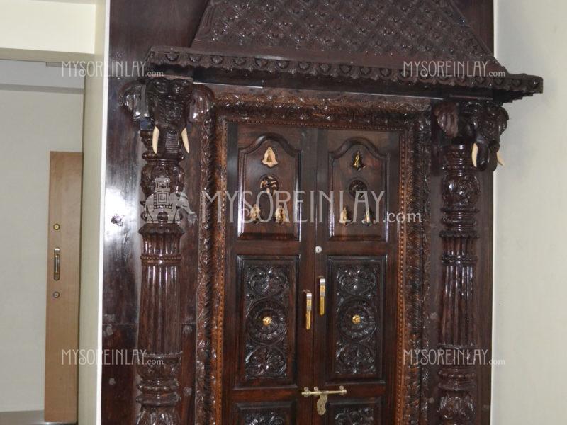 Rosewood Carved Door