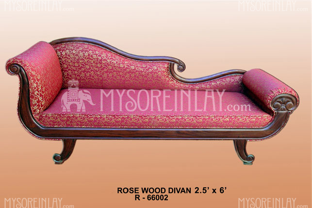 Rosewood Carved Deewan